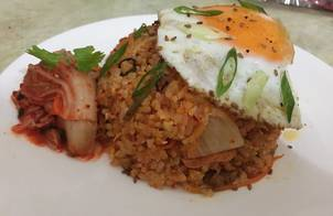 Cơm rang kimchi