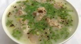 Hình ảnh món Cháo đậu xanh nấu sườn