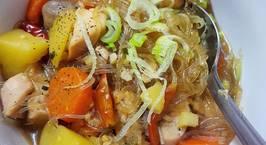 Hình ảnh món Miến gà kiểu Hàn Quốc