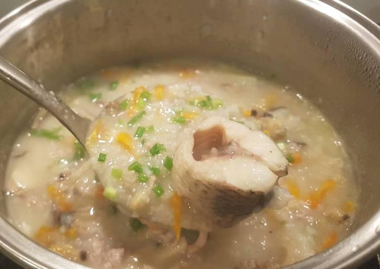 Cách Làm Món Cháo cá lóc và nghêu lụa cuối tuần của Jolly Trinh