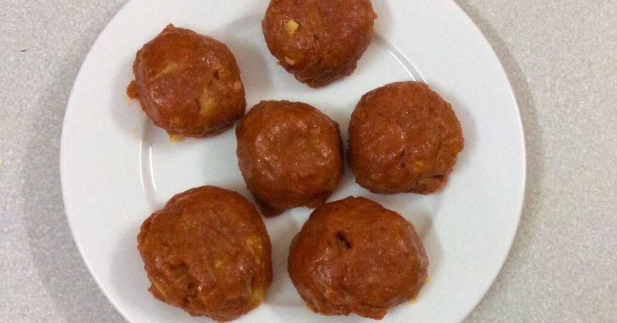 Bánh Khoai Cau và Gấc Sơn Tây