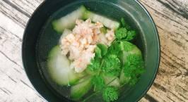 Hình ảnh món Canh Bí Xanh Nấu Tôm