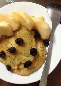 Pancake trứng chuối cho bữa sáng nhẹ nhàng
