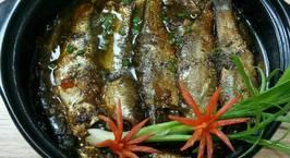Hình ảnh món Cá đối Kho tiêu
