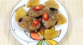 Hình ảnh món Cá ngừ kho dứa và nước dừa