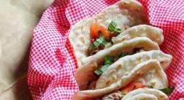 Hình ảnh món Tacos cho bé và câu chuyện dụ dỗ ăn rau