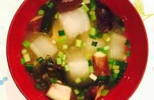 Nấu canh miso ngẫu hứng tủ lạnh