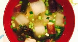 Hình ảnh món Nấu canh miso ngẫu hứng tủ lạnh