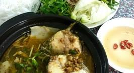 Hình ảnh món Lẩu cá bớp măng chua