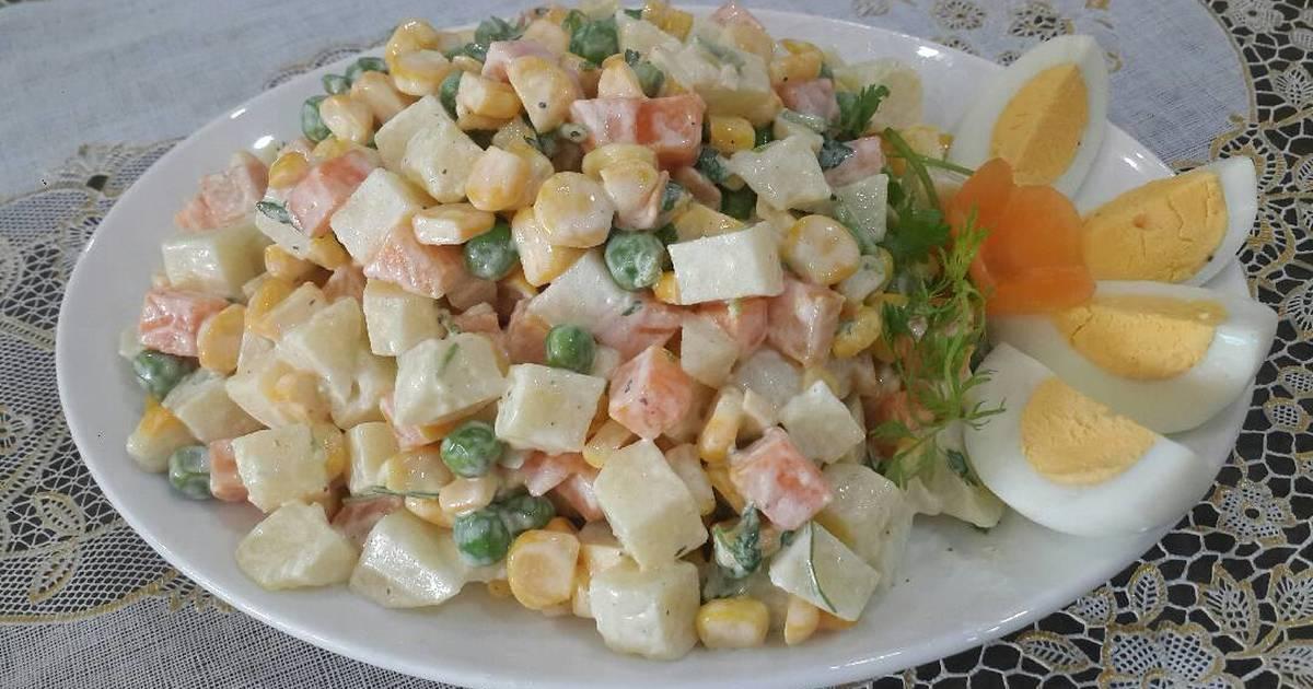 Salad Nga (đơn giản)