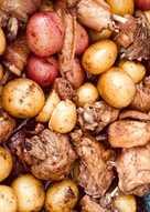 Gà hầm khoai tây