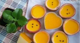Hình ảnh món Mousse chanh dây (Passion fruit mousse)