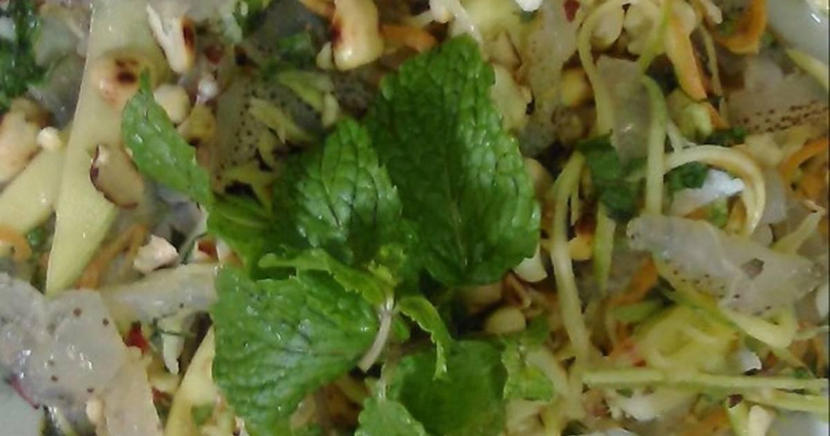 Nộm sứa Thái Bình quê tôi :)
