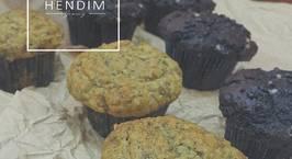 Hình ảnh món Malibu banana muffins - Muffins chuối Malibu