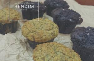 Malibu banana muffins - Muffins chuối Malibu