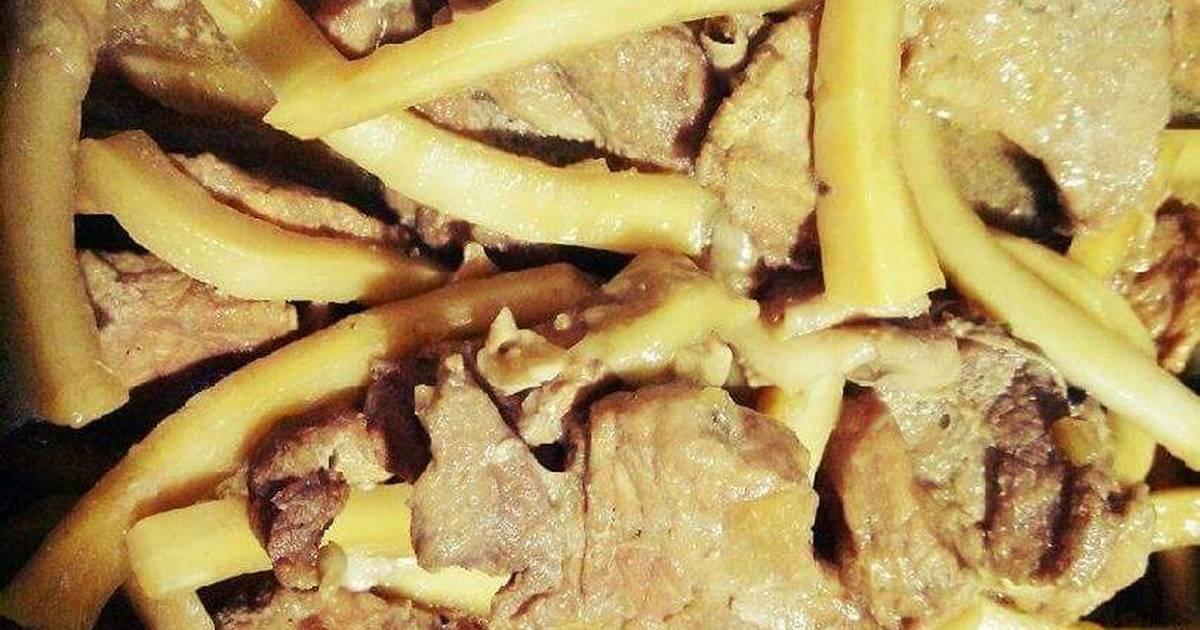 Thịt nạc kho dừa xiêm