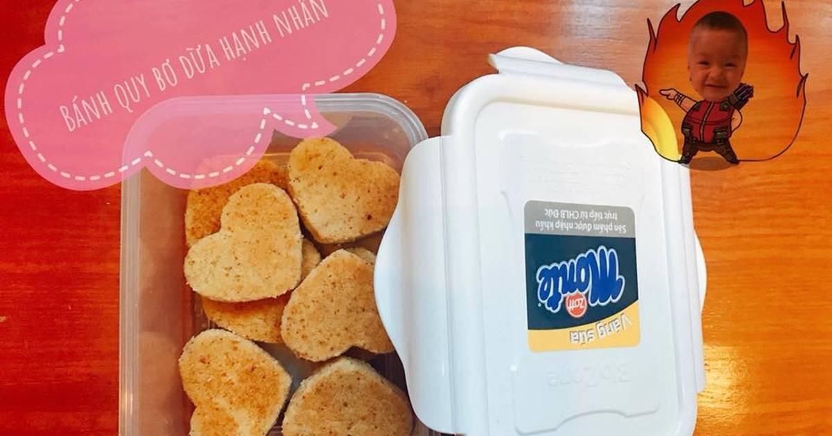 Bánh quy nướng chảo cho bé ăn dặm