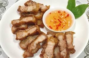 Thịt ba rọi chiên giòn