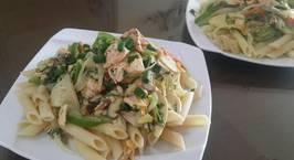 Hình ảnh món Mỳ Pasta cá Hồi
