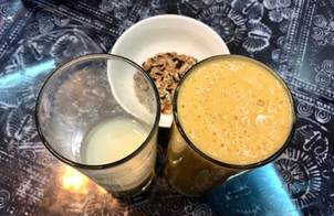 Sinh tố xoài sữa đậu nành