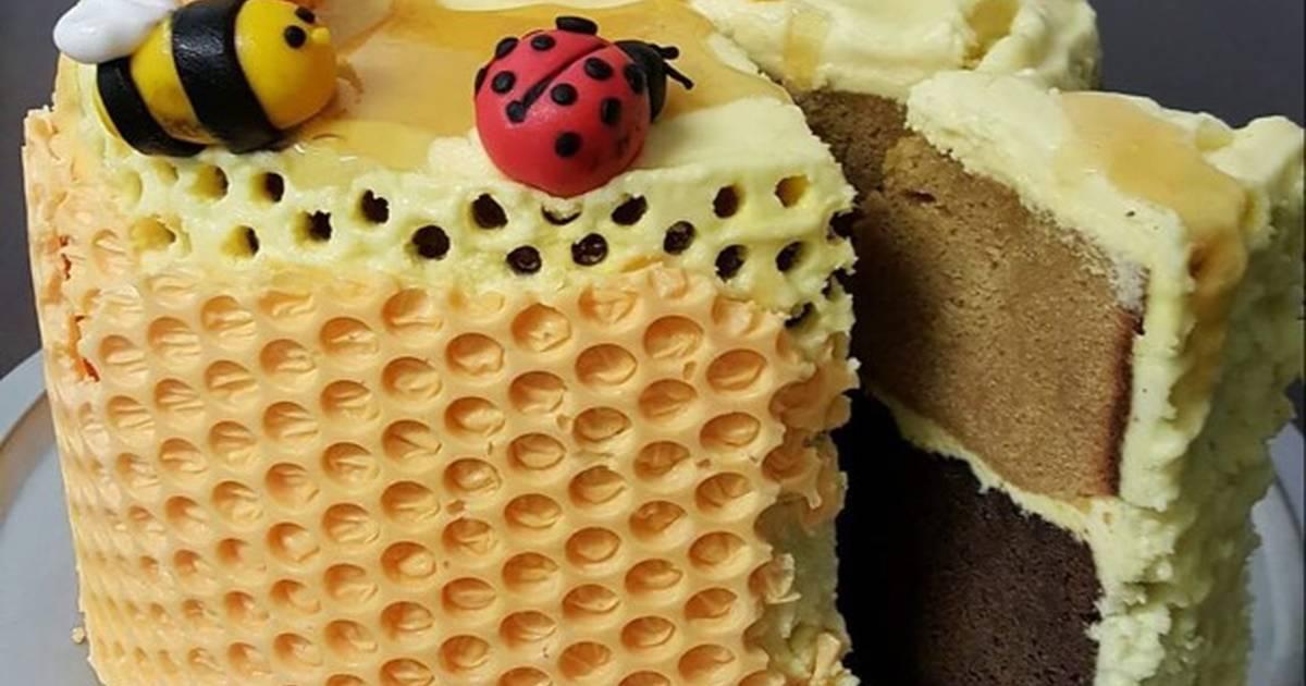 Bánh cafe sô cô la Tổ Ong