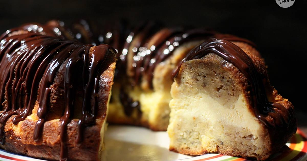 Creamcheese banana cake