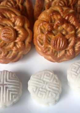 Bánh trung thu (Bánh Nướng - Phần vỏ)