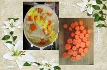 Canh cải thảo cà rốt
