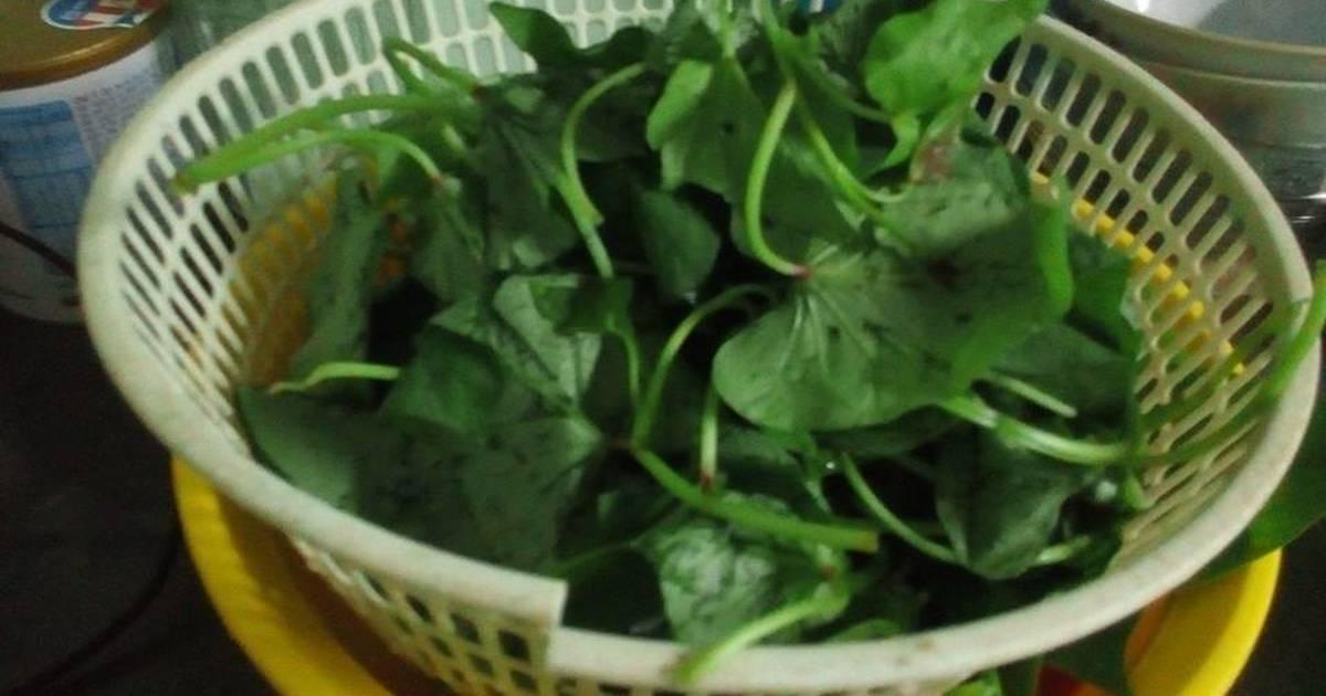 Canh rau lang nấu tôm