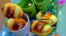 Hình ảnh món Traditional bake ~ cocktail bun (gai mei bao)