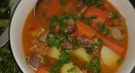 Hình ảnh món Canh bò hầm khoai tây, cà rốt