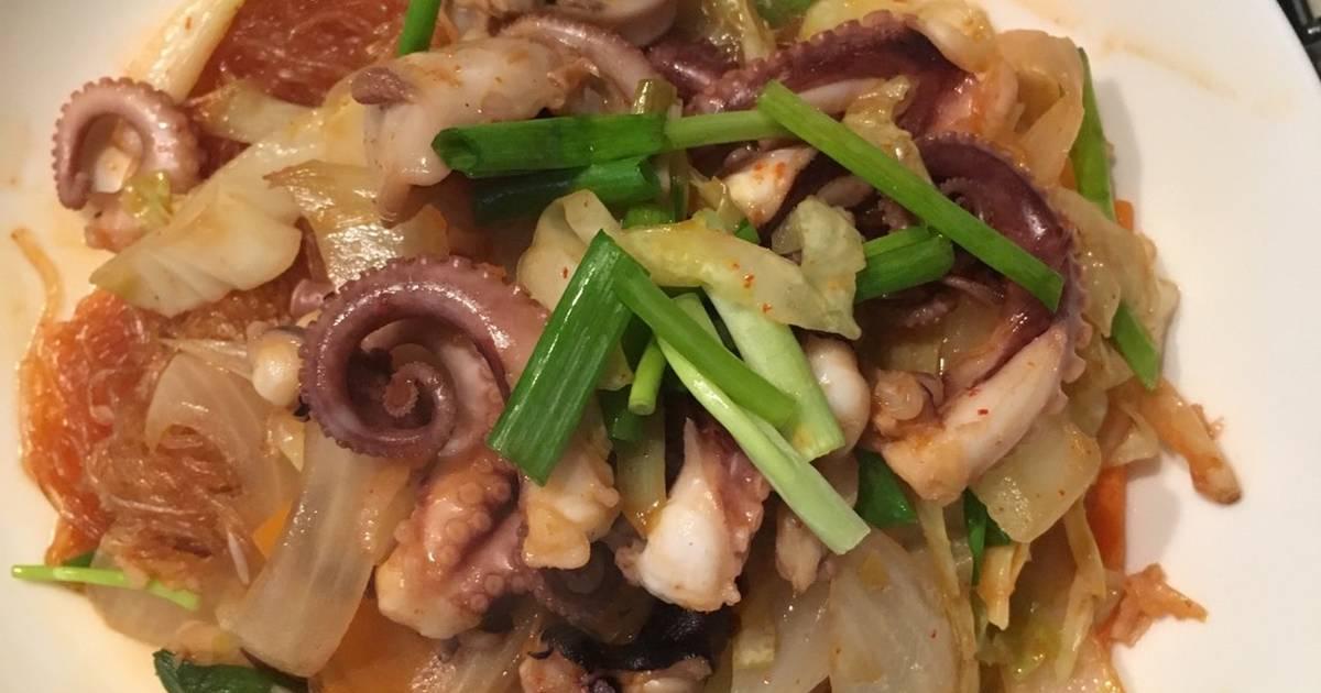 Món Ngon Tiện Lẹ - Bạch Tuộc Sốt Cay Hàn Quốc