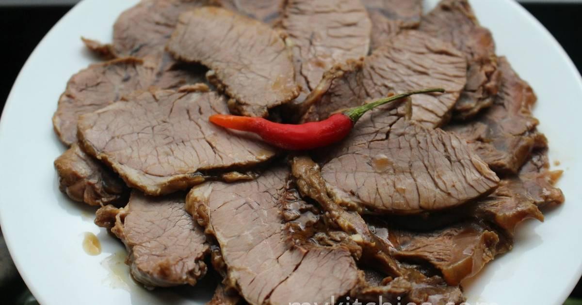 Thịt bò kho Tàu (bắp bò hầm xì dầu kiểu Tàu)