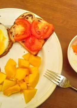 Bữa sáng của mình ở Mỹ