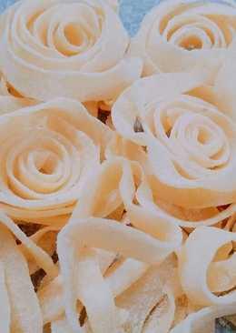 Mứt dừa hoa hồng 🌹❤