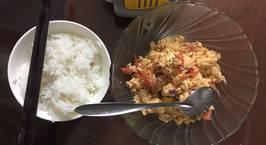 Hình ảnh món Trứng bát ăn sáng cực hao cơm