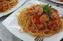 Mỳ Ý tôm
