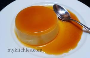 Caramel flan đơn giản không cần nướng hay hấp