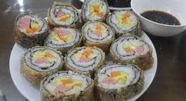 Hình ảnh món Kimbap chiên