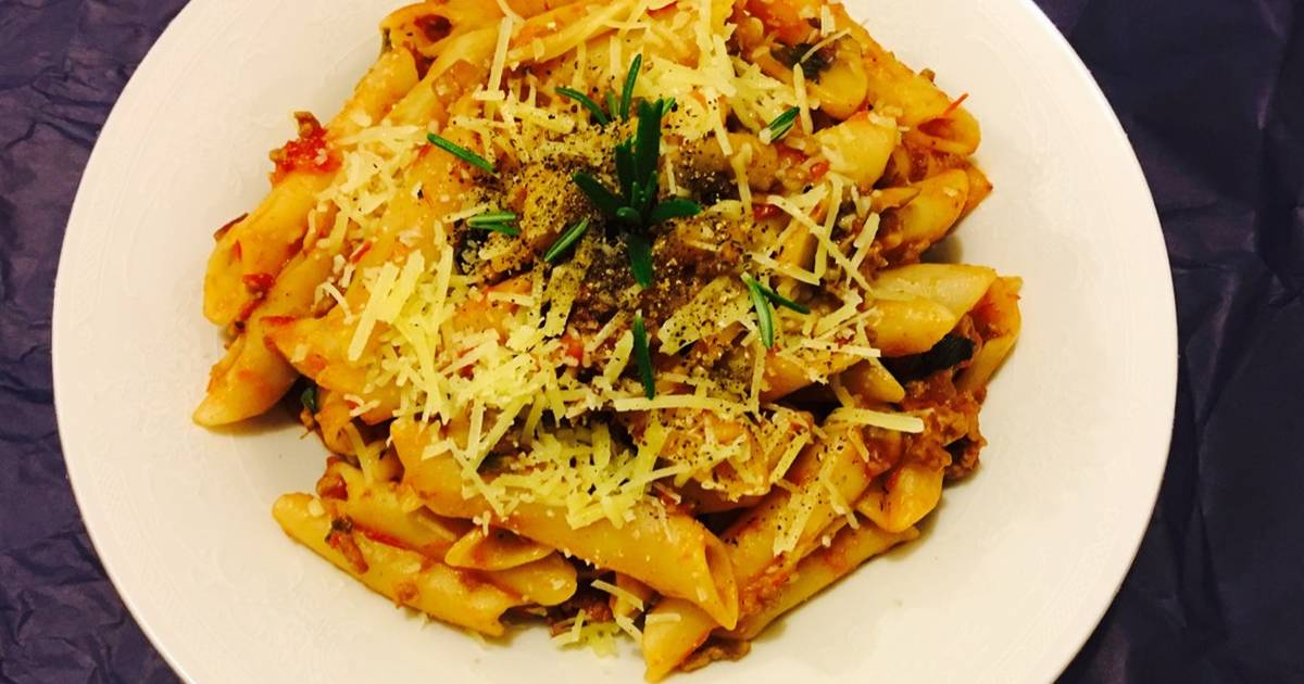 Beef Penne Pasta