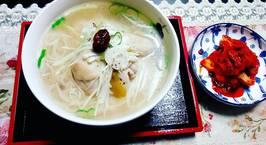 Hình ảnh món Gà Samgyetang-Style Nyumenサムゲタン風にゅうめん.♥