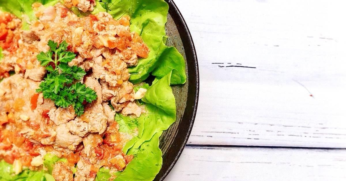 Salad Thịt Bò Sốt Cà Chua