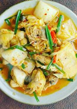 Gà kho Kimchi