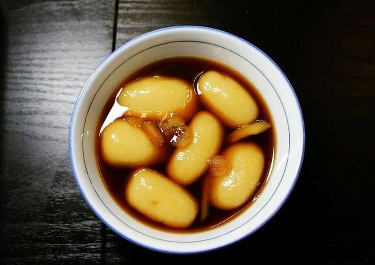 Image result for cách làm bánh ngào mật mía