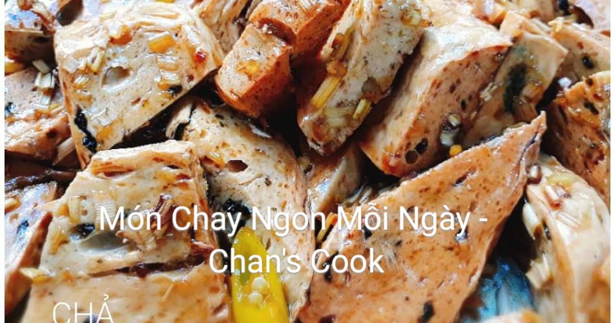 Chả cá kho xả ớt chay