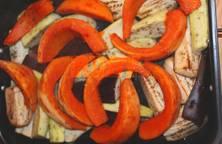 Củ quả nướng lò 25 phút