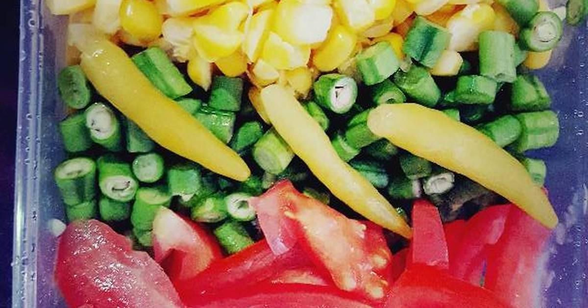 Salad rau củ 1