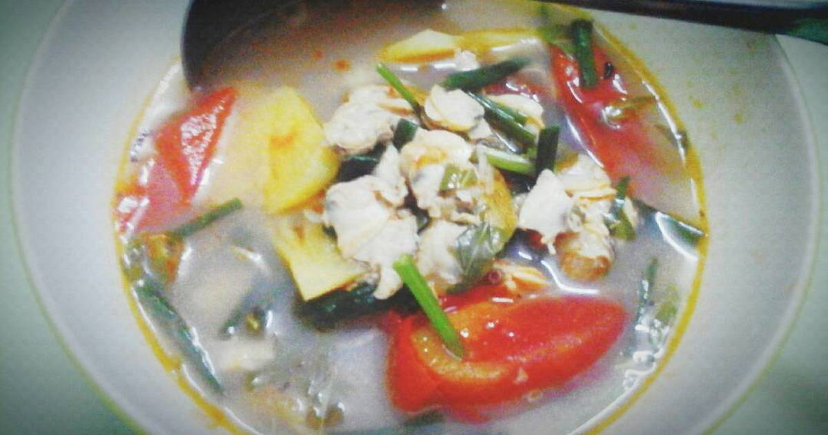 Canh ngao nấu chua
