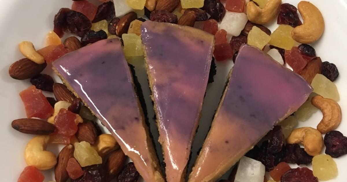 Bánh pho mát Việt quất bơ đậu Phộng kg dùng lò