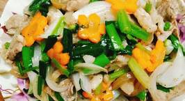 Hình ảnh món Thịt bò xào hành tây cần tây